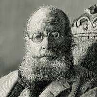 The original Old Man, Edward Lear